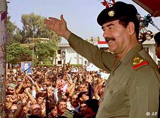 Iraqi President Saddam Hussein enjoys wide support at home despite his brutal rule.
