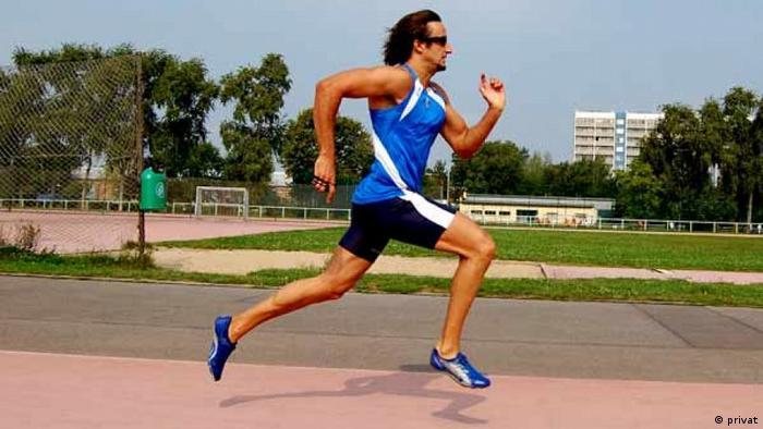 Daniele Biffi, 46-jähriger italienischer Leichtathlet