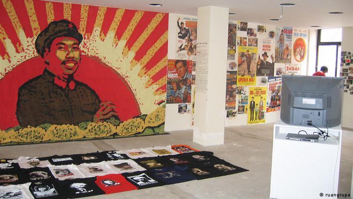 Ausstellungsansicht von der Biennale Istanbul