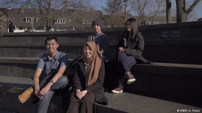 Indonesier in Deutschland (DW/R. A. Putra )