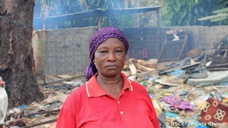 Afrika Fischerei l Mitarbeiterinnen in der Côte d'Ivoire (USCOFEP Côte d'Ivoire)