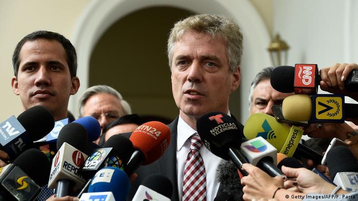 Venezuela Krise l Deutscher Botschafter Daniel Kriener in Venezuela zur unerwünschten Person erklärt