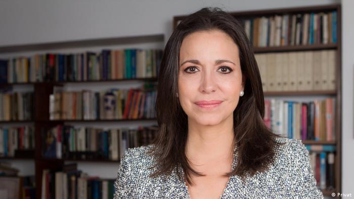 María Corina Machado, líder opositora venezolana