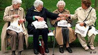Vier Rentnerinnen