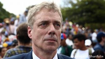 Venezuela Deutscher Botschater Daniel Kriener in Caracas