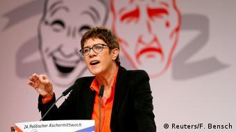 CDU Genel Başkanı Annegret Kramp-Karrenbauer