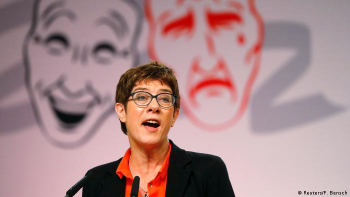 CDU leader Annegret Kramp-Karrenbauer