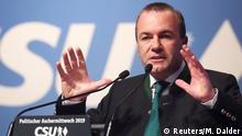 Deutschland Politischer Aschermittwoch l CSU Manfred Weber