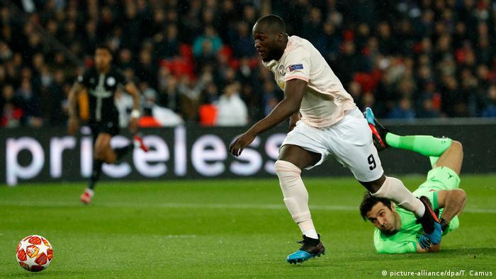 Fußball Champions League l Paris St Germain v Manchester United | Tor (1-2)