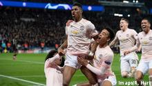 Fußball Champions League l Paris St Germain v Manchester United | Jubel (1-3)