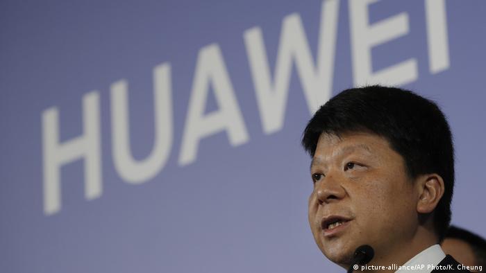 China Huawei Vorsitzender Guo Ping