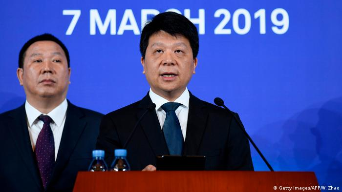China Huawei Vorsitzender Guo Ping (Getty Images/AFP/W. Zhao)