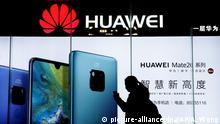 Huawei (picture-alliance/dpa/AP/A. Wong)