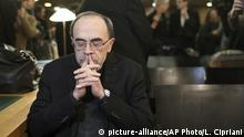 Frankreich Lyon Kardinal Philippe Barbarin