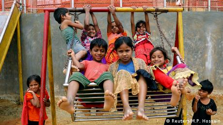 BdTD Bangladesch Rohingya Flüchtlingskinder in Cox's Bazar (Reuters/M.P. Hossain)
