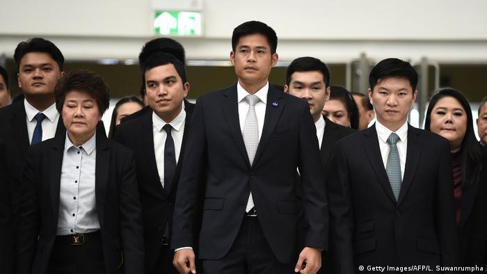 Thailand Verfassungsgericht berät über Thai Raksa Chart Partei