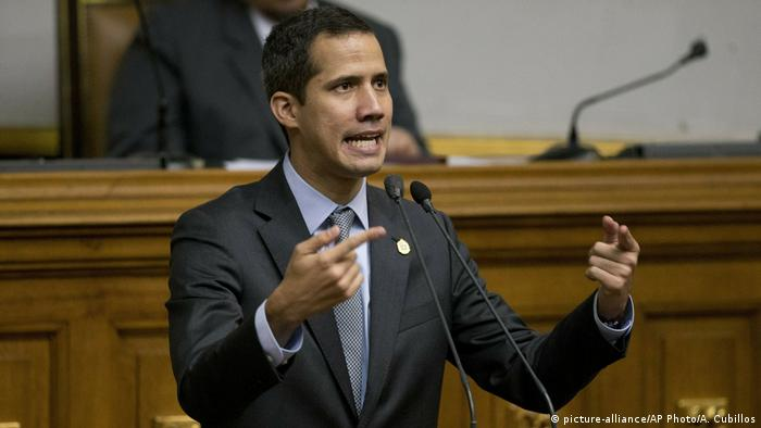 Juan Guaido (picture-alliance/AP Photo/A. Cubillos)