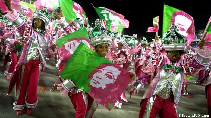 Desfile de Carnaval da Mangueira em 2019