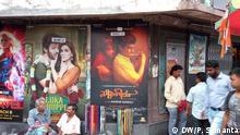 Indien Westbengalen Kalkutta - Neure bengalischre Film über die Probleme von Transgender