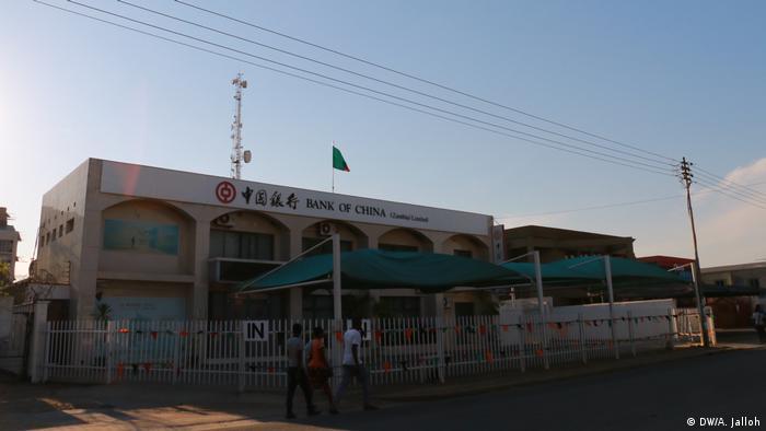 Zambia - Chinesische Entwicklungsprojekte (DW/A. Jalloh)