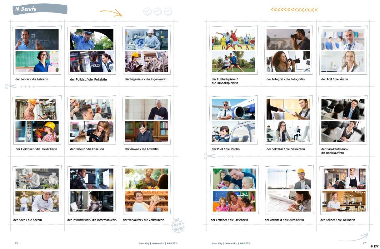 DEUTSCHKURSE   Nicos Weg   Beispiel_Arbeitsbuch_Nicos_Weg_26_27