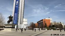 Kosovo Parlamentsgebäude in Pristina