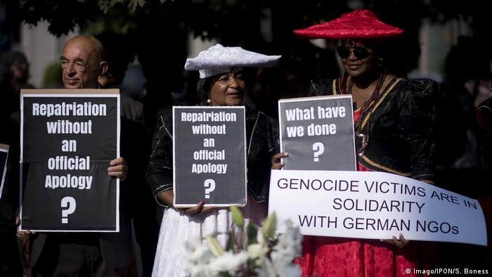 USA Justiz l US-Richterin verwirft Klage namibischer Volksgruppen Herero und Nama