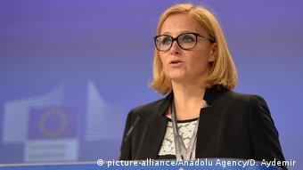 Официальный представитель Еврокомиссии Майя Косьянчич