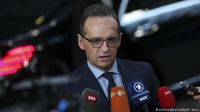 Treffen der EU-Außenminister | Bundesaußenminister Heiko Maas