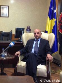 Kosovo Isa Mustafa LDK Vorsitzender (DW/B. Shehu)