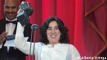 ****Achtung: Verwendung nur zur abgesprochenen Berichterstattung Arnatxa Echevarría hat den Goya Preis 2019 als Beste Neue Regisseurin für ihr Film Carmen y Lola