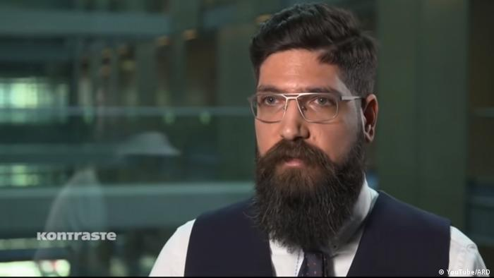 Screenshot - ARD Kontraste Bericht mit Kevork Almassian