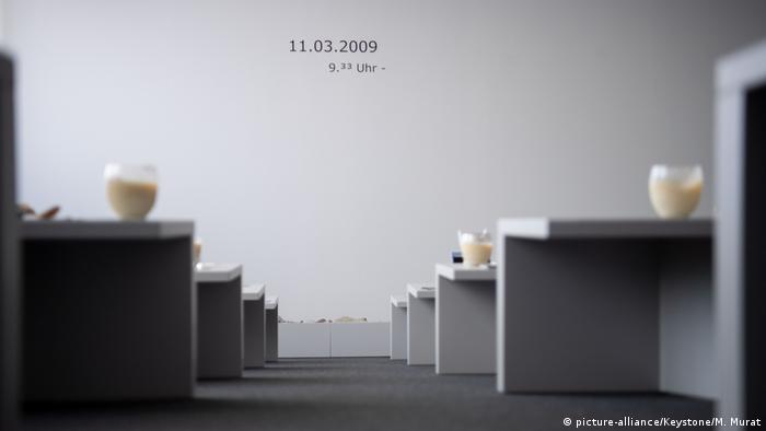 Deutschland l Jahrestag des Amoklaufs in Winnenden - Gedenkraum der Albertville-Realschule