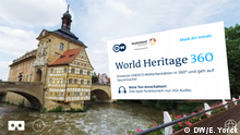 DW World Heritage 360 - Bamberger Rathaus (DW/E. Yorck)