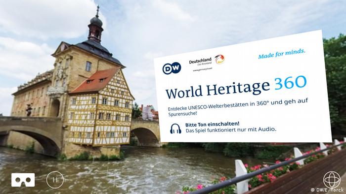 DW World Heritage 360 - Bamberger Rathaus