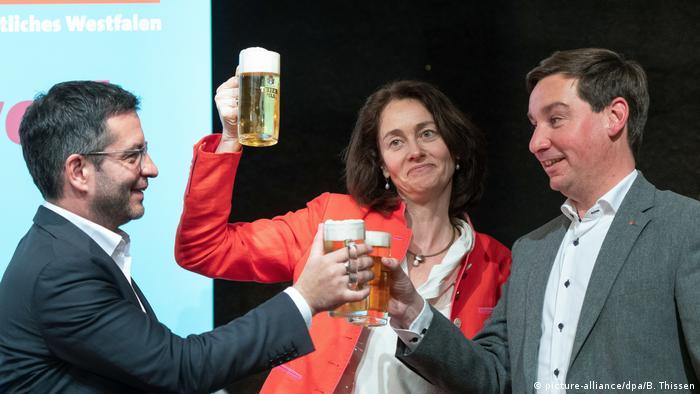 German Justice Minister Katarina Barley at SPD Ash Wednesday events