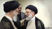 Iran Politik Ali Khemenei und Ebrahim Raisi