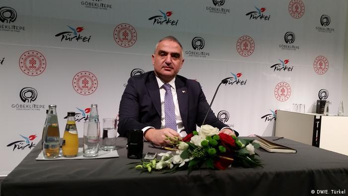 Deutschland ITB Berlin 2019 - Mehmet Nuri Ersoy (DW/E. Türkel)