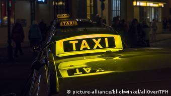 На стояке такси в Германии