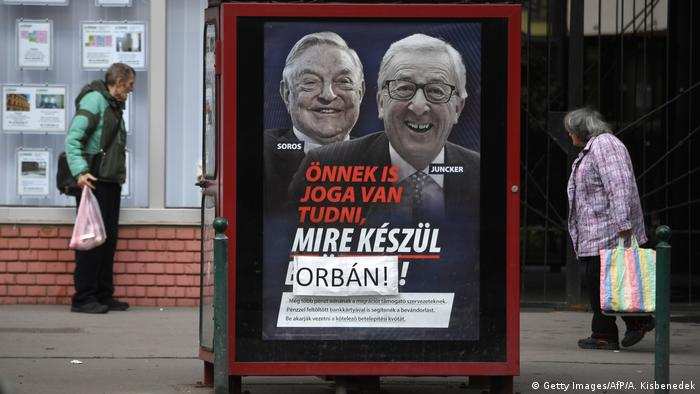 У вас тоже есть прав знать, что готовит вам Брюссель, - написано на предвыборном плакате партии Орбана