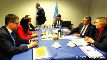 Συνάντηση της κ. Κουντουρά με τον ΓΓ του Παγκόσμιου Οργανισμού Τουρισμού του ΟΗΕ Ζουράμπ Πολολικασβίλι