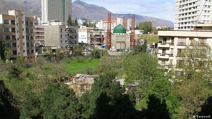 Iran Wohnungsbau Garten-Turm in Teheran