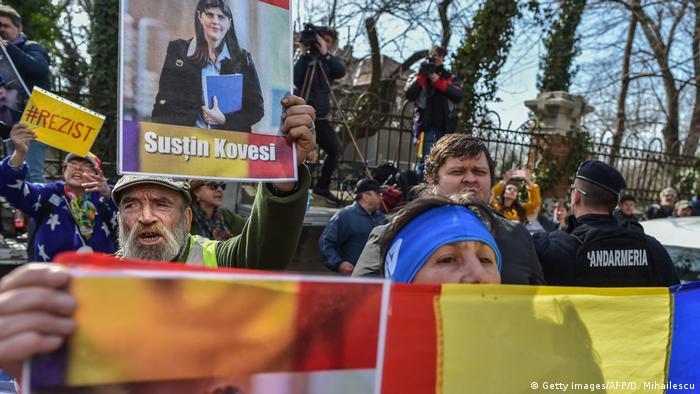 Proteste în apărarea Laurei Kövesi la 7 martie 2019