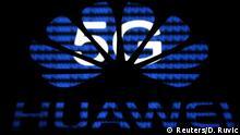 5G und Huawei Logo
