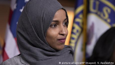US congresswoman Ilhan Omar, D-representative of Minnesota