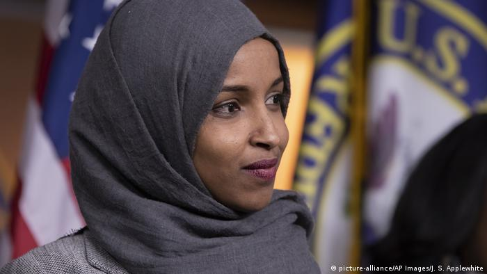 Congresswoman Ilhan Omar, originally from Somalia, came to the US as a refugee