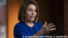 USA Washington Nancy Pelosi