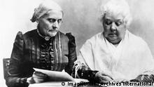 Susan B. Anthony und Elizabeth Cady Stanton