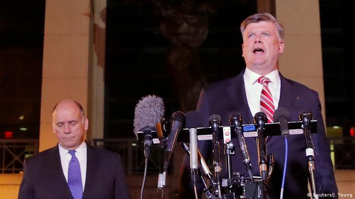 USA Alexandria Rechtsanwalt Kevin Downing nach Manafort Urteil (Reuters/J. Young)