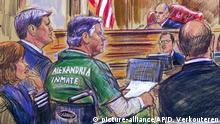 USA Alexandria - Hohe Haftstrafe für Trumps Ex-Wahlkampfmanager Manafort